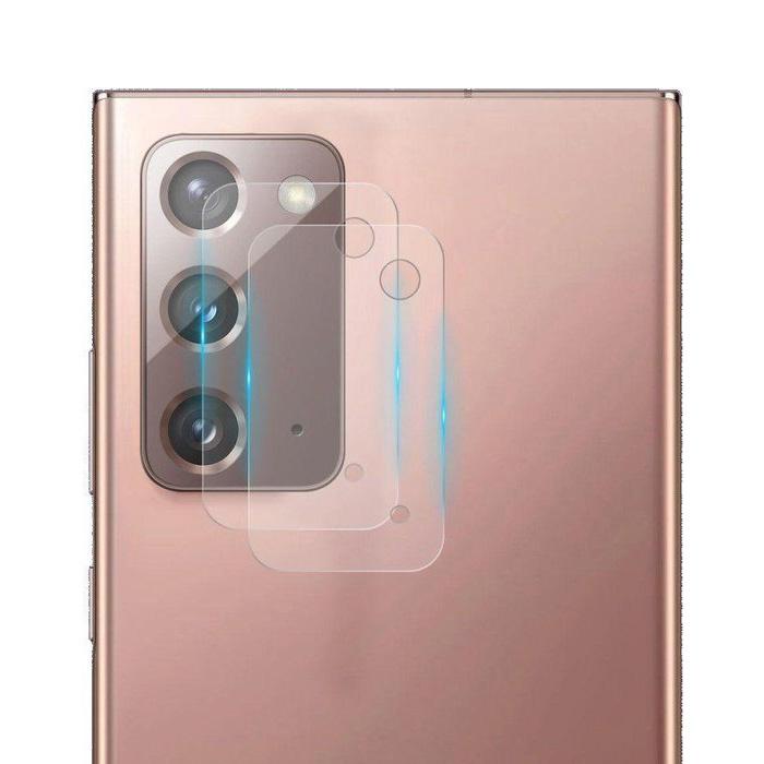2er-Pack Samsung Galaxy Note 20 Kameraobjektivabdeckung aus gehärtetem Glas - stoßfester Gehäuseschutz