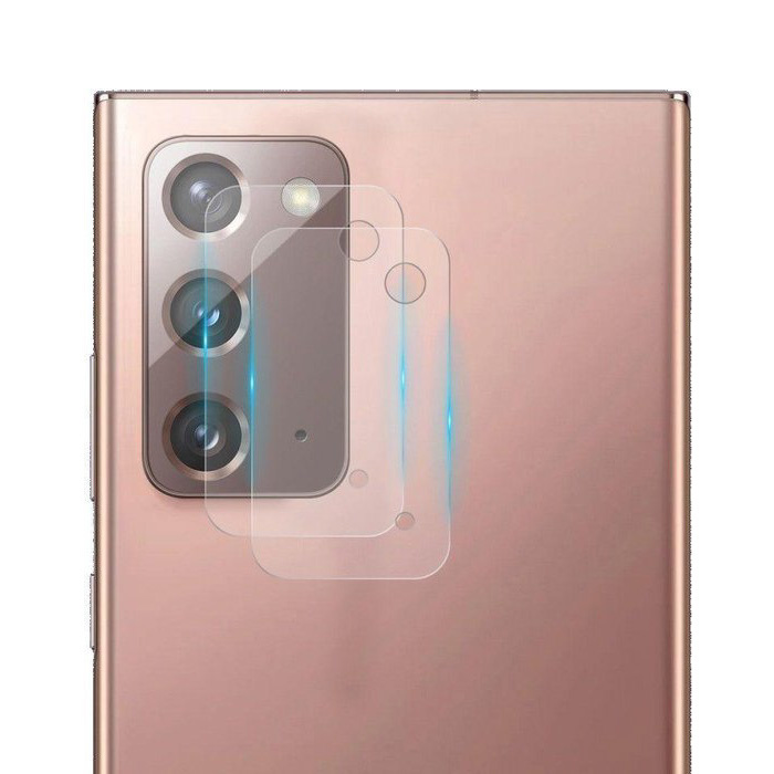 Lot de 2 couvercles d'objectif en verre trempé pour Samsung Galaxy Note 20 - Protection antichoc