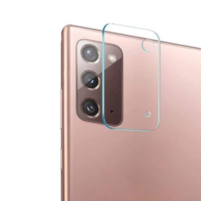 Samsung Galaxy Note 20 Kameraobjektivabdeckung aus gehärtetem Glas - stoßfester Gehäuseschutz