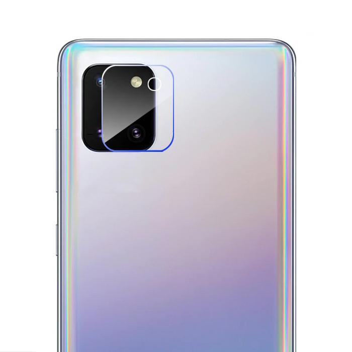 Samsung Galaxy Note 10 Lite Kameraobjektivabdeckung aus gehärtetem Glas - stoßfester Gehäuseschutz