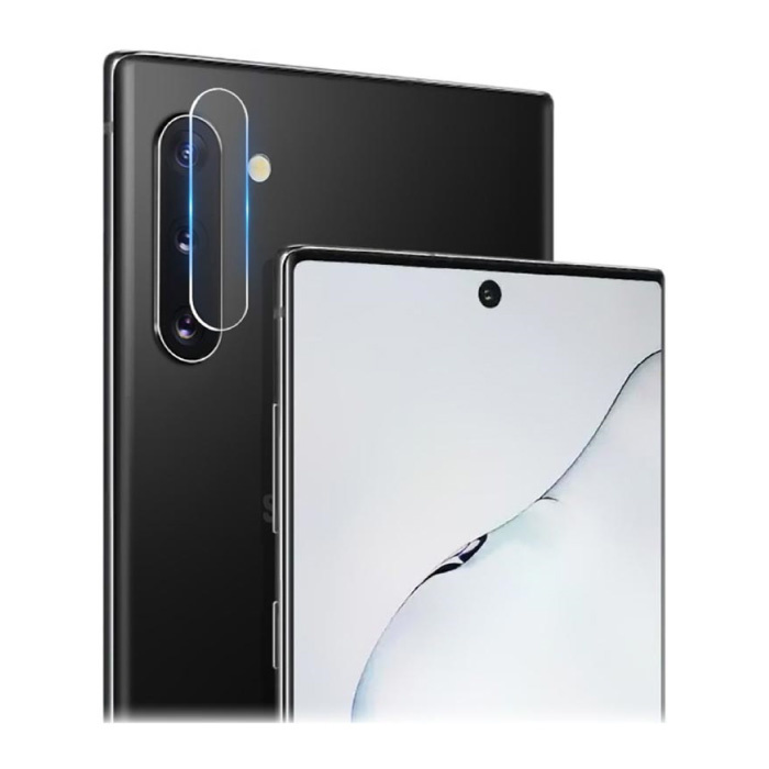3-Pack Samsung Galaxy Note 10 Plus Tempered Glass Camera Lens Cover - Shockproof Case Bescherming