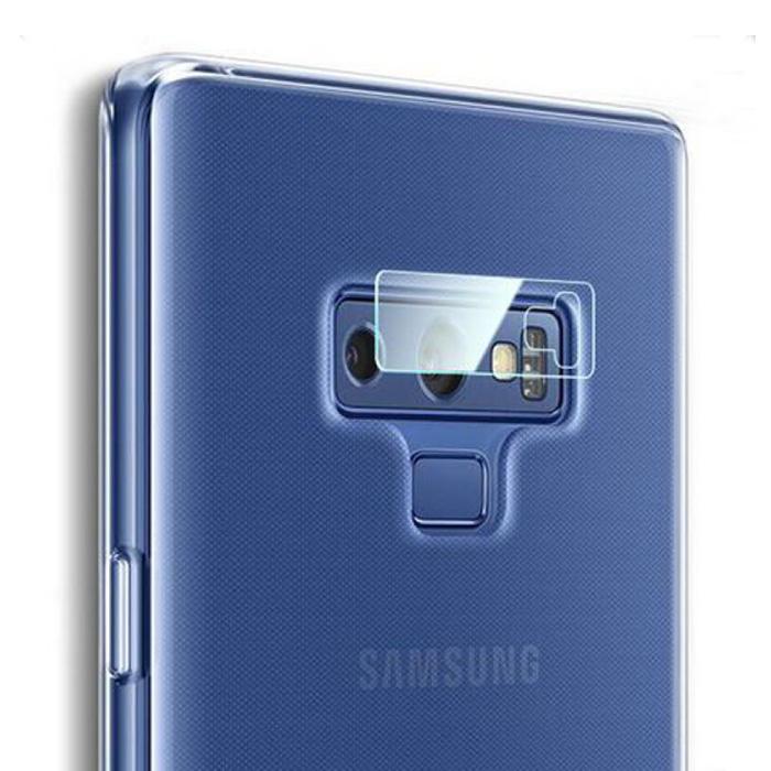 Cache d'objectif de caméra en verre trempé pour Samsung Galaxy Note 9 - Protection antichoc