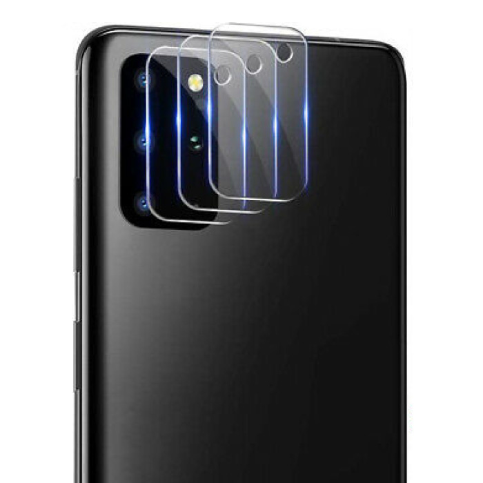 Lot de 3 couvercles d'objectif en verre trempé pour Samsung Galaxy S10 Lite - Protection antichoc