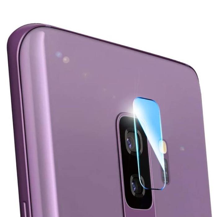 Lot de 2 couvercles d'objectif en verre trempé pour Samsung Galaxy S9 Plus - Protection antichoc