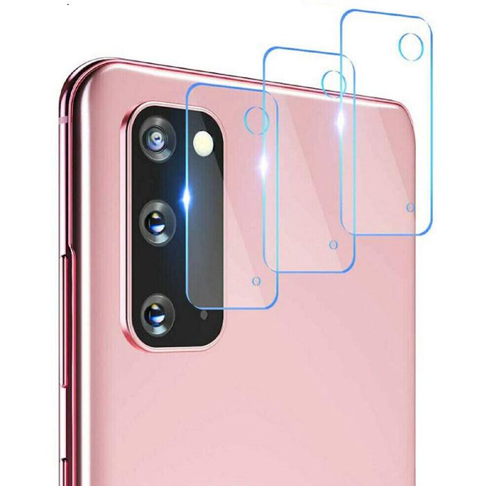 3er-Pack Samsung Galaxy S20 FE Kameraobjektivabdeckung aus gehärtetem Glas - stoßfester Gehäuseschutz