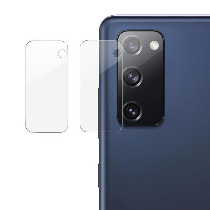 Lot de 2 couvercles d'objectif en verre trempé pour Samsung Galaxy S20 FE - Protection antichoc