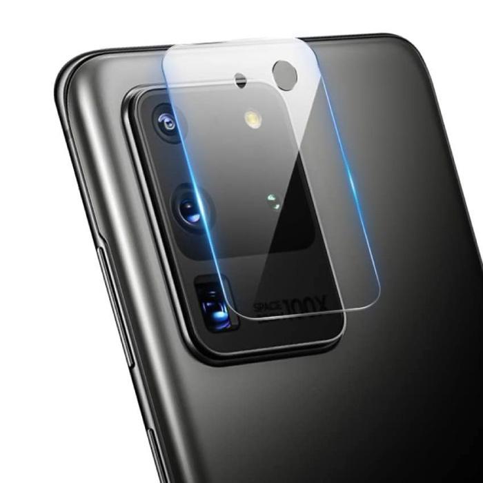 Samsung Galaxy S20 Kamera-Objektivabdeckung aus gehärtetem Glas - Stoßfeste Schutzhülle