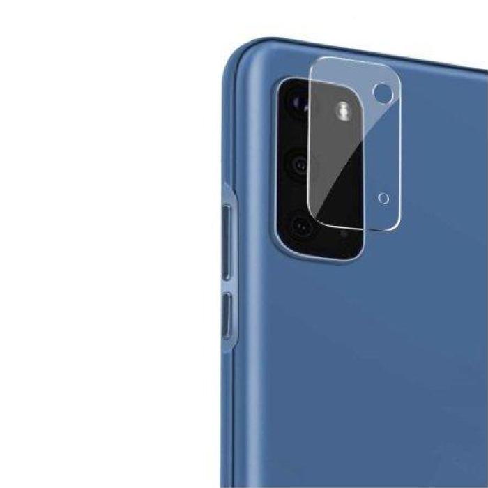 Lot de 2 couvercles d'objectif en verre trempé pour Samsung Galaxy S20 Plus - Protection antichoc