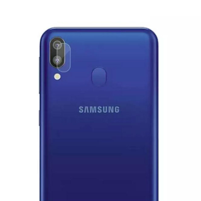 Samsung Galaxy A20 Kameraobjektivabdeckung aus gehärtetem Glas - stoßfester Gehäuseschutz