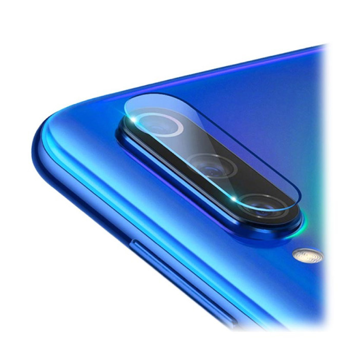 3-Pack Samsung Galaxy A70 Tempered Glass Camera Lens Cover - Shockproof Case Bescherming