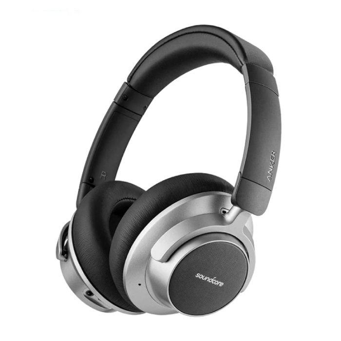Soundcore Space NC Draadloze Koptelefoon - Bluetooth 5.0 Wireless Headphones Stereo Studio Zwart