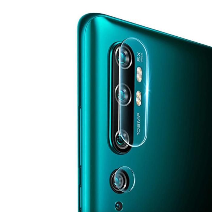 Lot de 3 couvercles d'objectif en verre trempé pour appareil photo Xiaomi Redmi Note 10S - Protection de l'étui en film antichoc