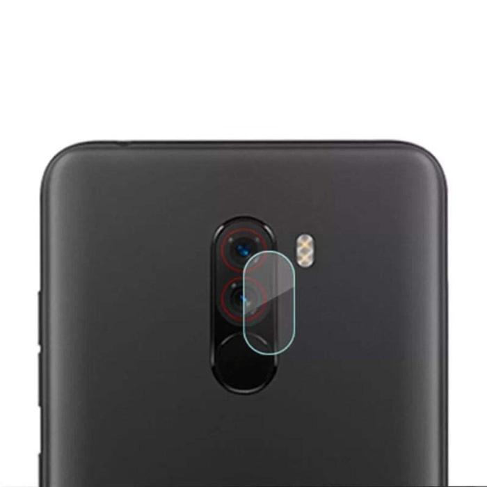 Lot de 3 couvercles d'objectif en verre trempé pour appareil photo Xiaomi Pocophone F1 - Protection de boîtier en film antichoc