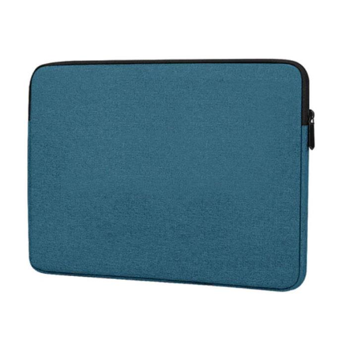 Housse pour ordinateur portable pour Macbook Air Pro - 15,6 pouces - Housse de transport vert