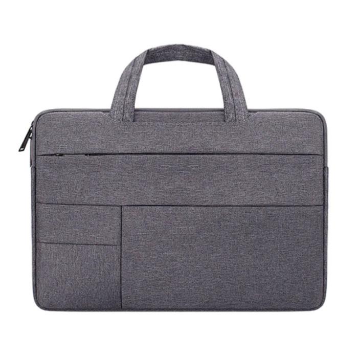 Draagtas voor Macbook Air Pro - 13 inch - Laptop Sleeve Case Cover Grijs