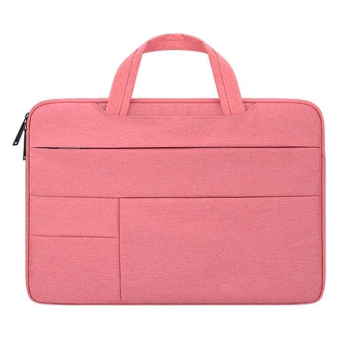 Tragetasche für Macbook Air Pro - 14 Zoll - Laptop Hülle Hülle Cover Pink