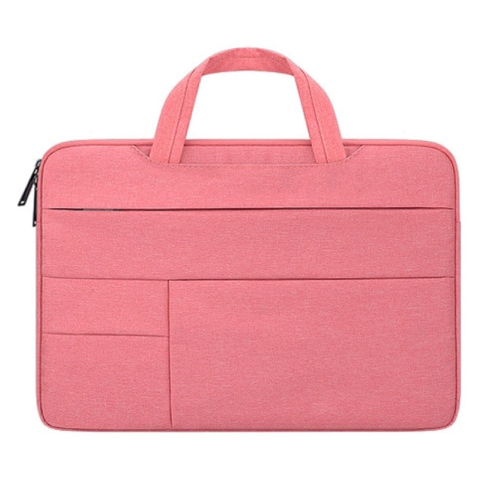 Draagtas voor Macbook Air Pro - 15.6 inch - Laptop Sleeve Case Cover Roze