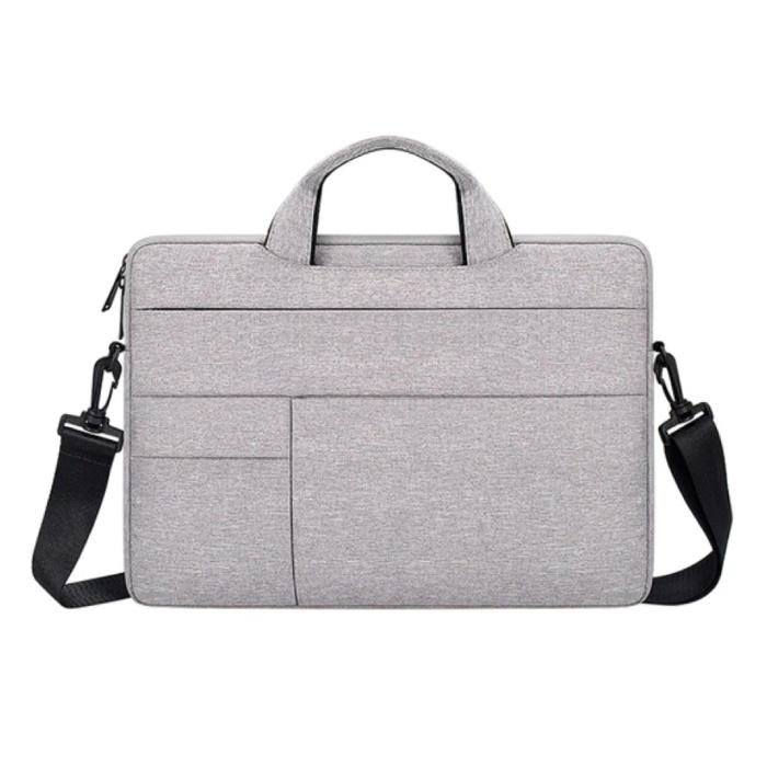 Draagtas met Riem voor Macbook Air Pro - 14 inch - Laptop Sleeve Case Cover Wit