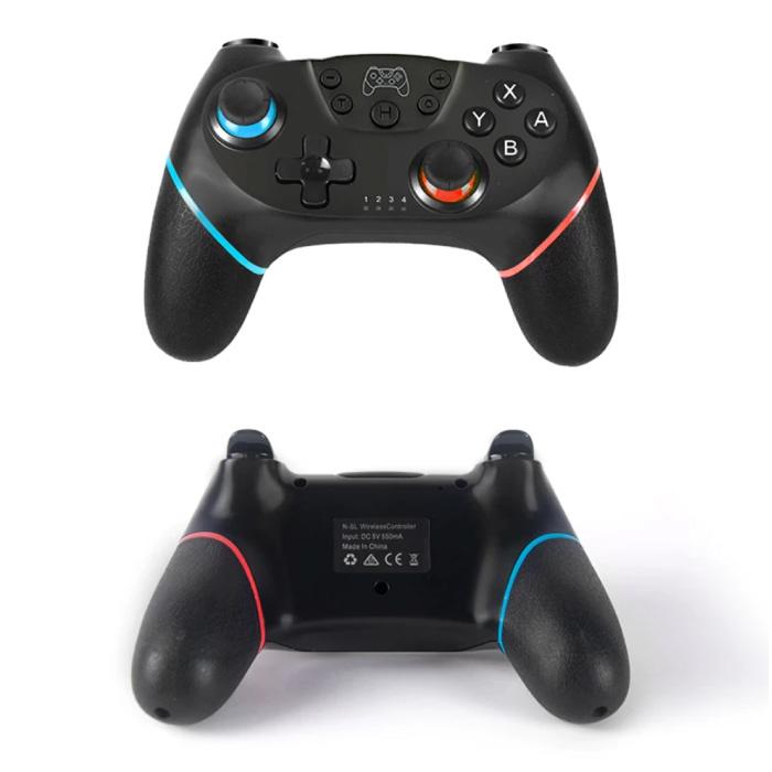 Stuff Certified® 2-Pack Gaming Controller voor Nintendo Switch - NS Bluetooth Gamepad met Vibratie Wit
