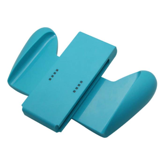 Controller Grip für Nintendo Switch - NS Gamepad Handgrip Griff Blau