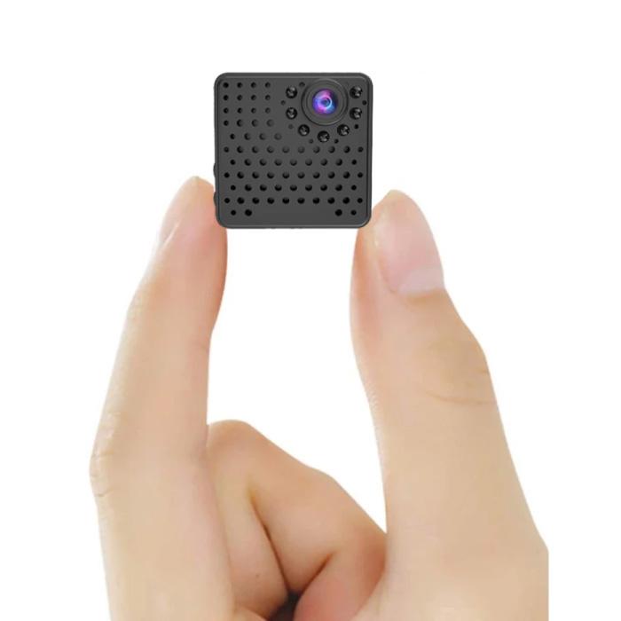 Mini caméra de sécurité - Alarme de détecteur de mouvement de caméscope HD 1080p noir