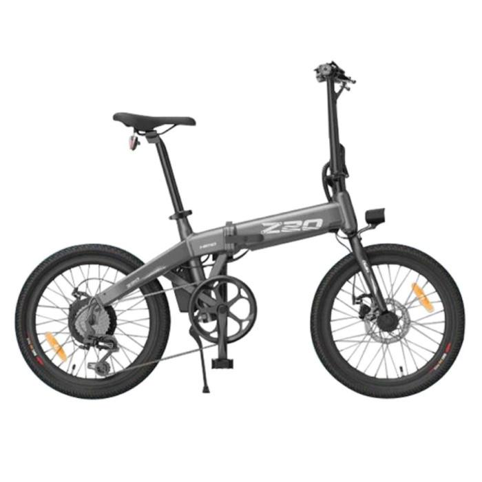 Vélo électrique pliable Z20 - Vélo tout-terrain intelligent E - 250W - Batterie 10 Ah - Noir