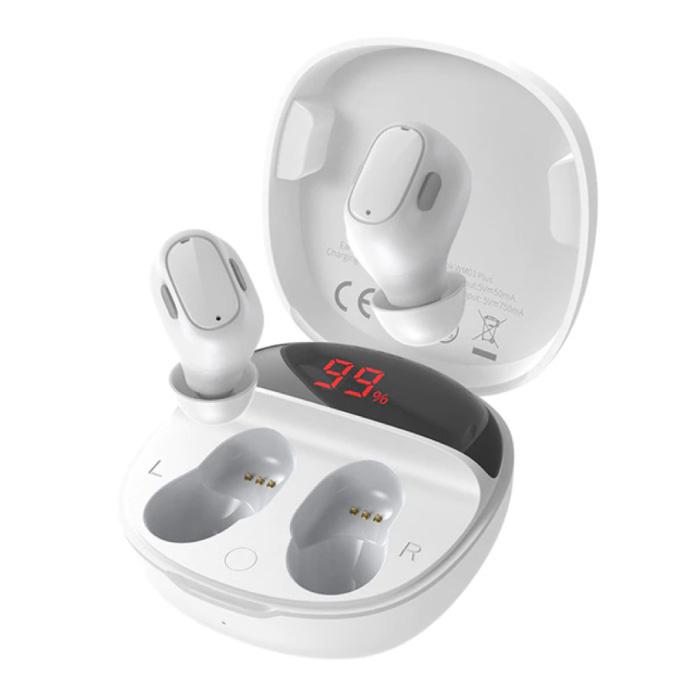 WM01 Plus Draadloze Oortjes - Touch Control Oordopjes TWS Bluetooth 5.0 Earphones Earbuds Oortelefoon Wit