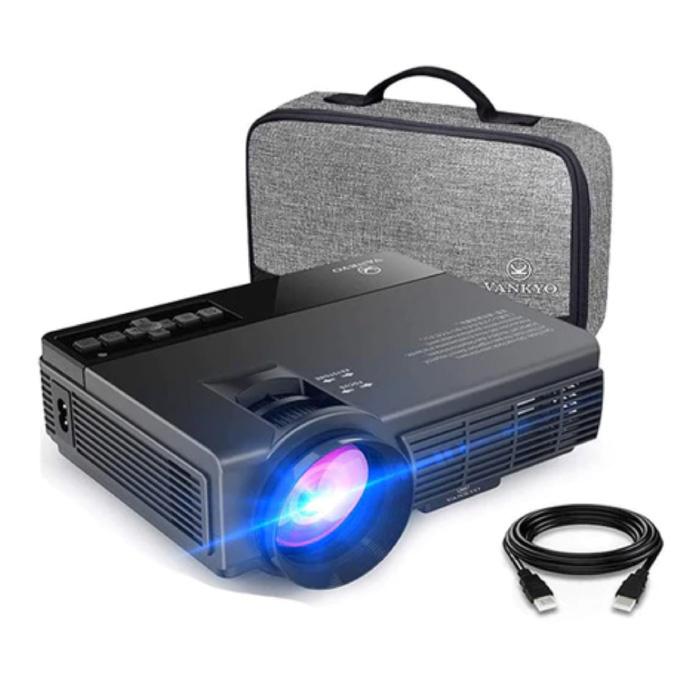 Projecteur LED Leisure C3MQ - Beamer Home Media Player Theatre Cinema Black