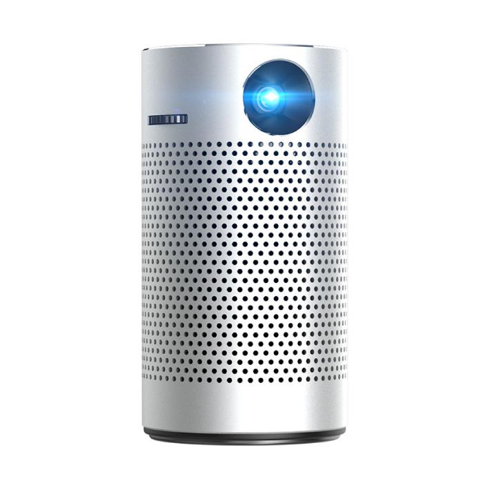 P7 Bluetooth Projektor und Lautsprecher - 8 GB Version Android LED Beamer Home Media Player Theater Kino Silber