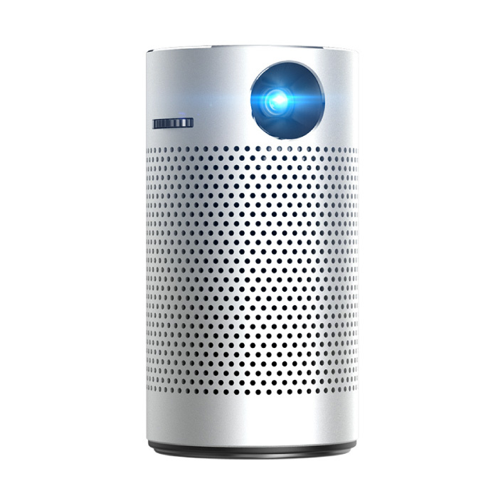 P7 Bluetooth Projektor und Lautsprecher - 16 GB Version Android LED Beamer Home Media Player Theater Kino Silber