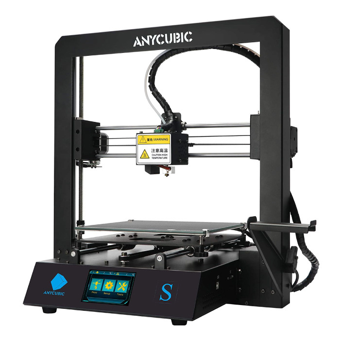 Mega-S 3D-Drucker DIY - Ultrabase / Mittlere Druckfläche / Hochpräzise / Robuster Rahmen / Hängendes Filamentgestell