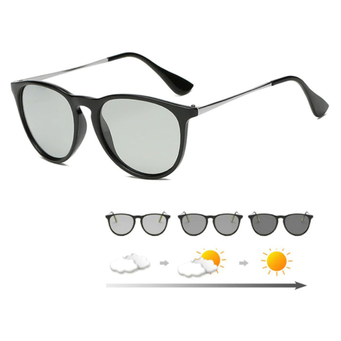 Zonnebril - UV400 en Polarisatie Filter voor Mannen en Vrouwen - Zwart