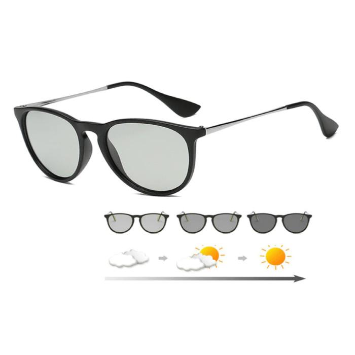 Sonnenbrille - UV400 und Polarisationsfilter für Männer und Frauen - Mattschwarz
