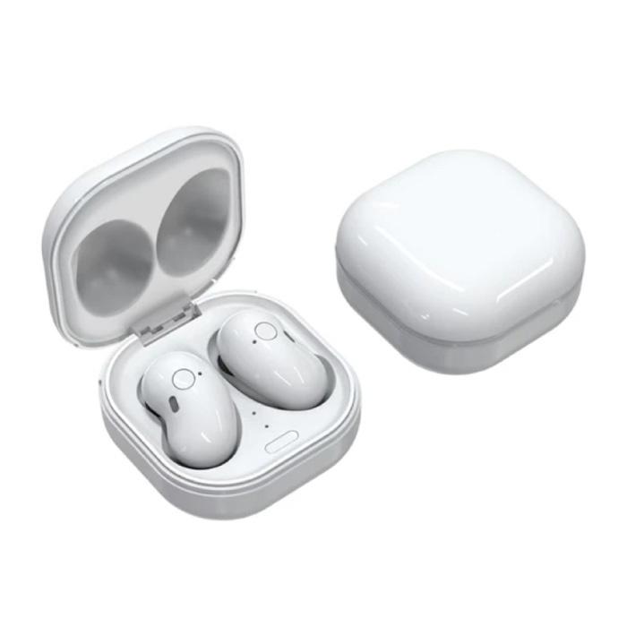 S6 Plus Draadloze Oortjes - One Button Control Oordopjes TWS Bluetooth 5.0 Earphones Earbuds Oortelefoon Wit