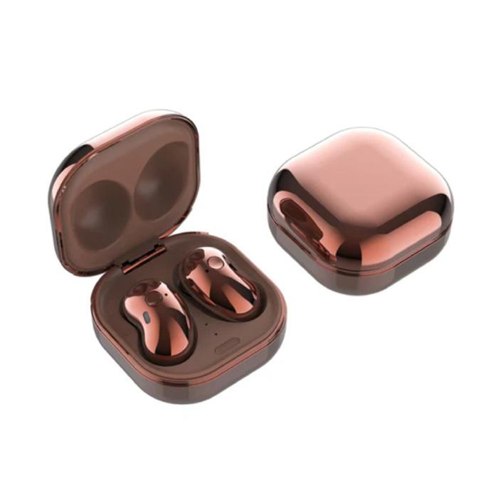 Écouteurs sans fil S6 Plus - Écouteurs avec contrôle à un bouton TWS Écouteurs Bluetooth 5.0 Écouteurs Écouteurs or