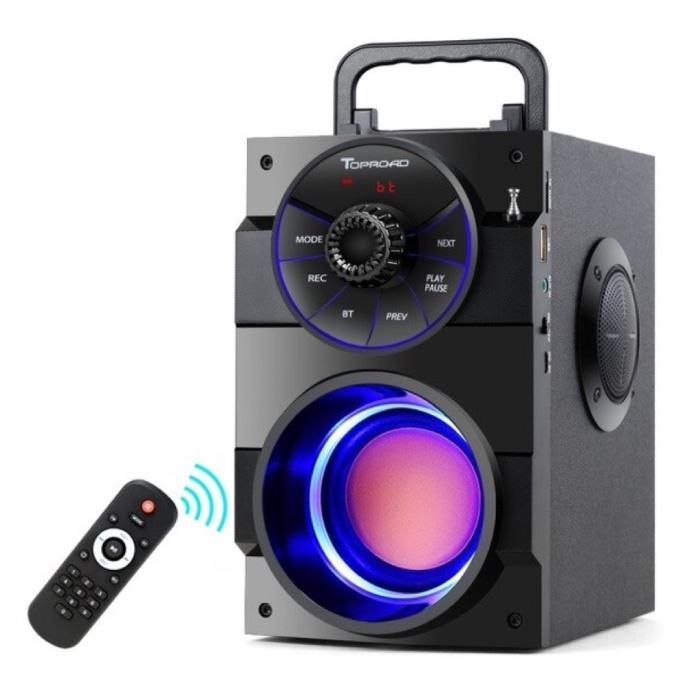 Haut-parleur sans fil A100 - Haut-parleur 11W Boîte de barre de son sans fil Bluetooth 5.0 Noir