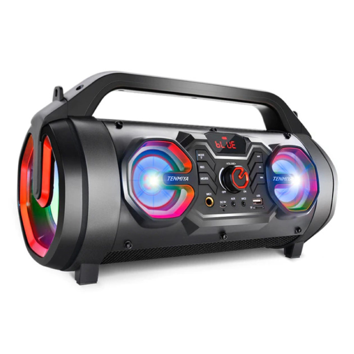 Haut-parleur sans fil T16 - Haut-parleur 30W Boîte de barre de son sans fil Bluetooth 5.0 Rouge