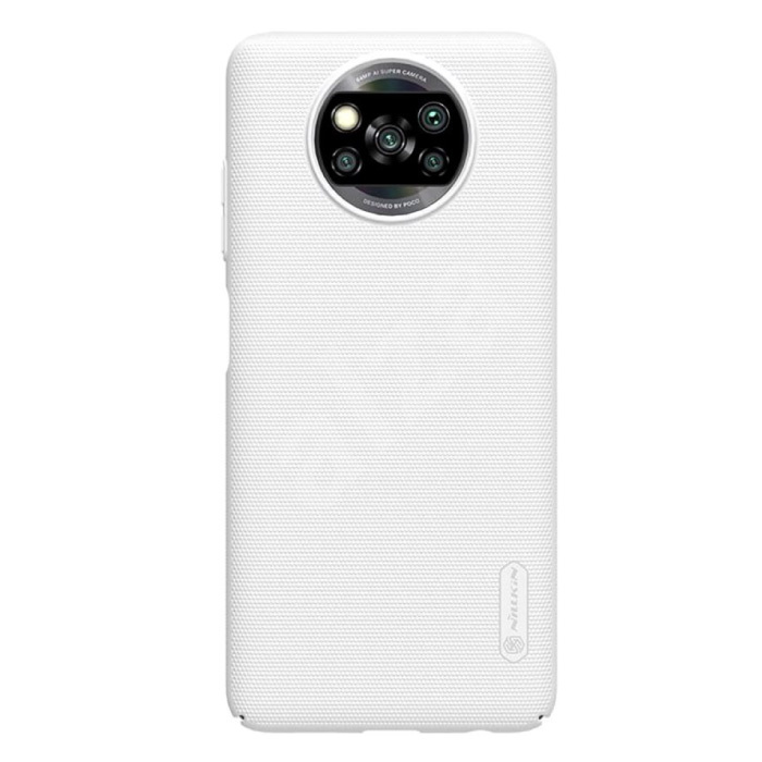 Coque Xiaomi Poco X3 Pro Frosted Shield - Housse antichoc Cas Blanc