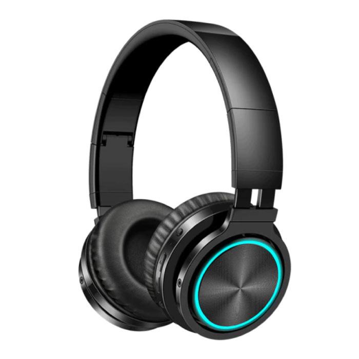 Drahtlose Kopfhörer - Bluetooth 5.0 Noise Cancelling Headphones Gaming Headset Schwarz