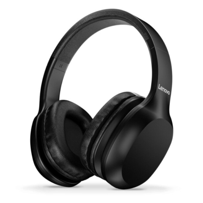 HD100 Bluetooth Headphones with AUX Connection - Headset with Microphone DJ Headphones Black