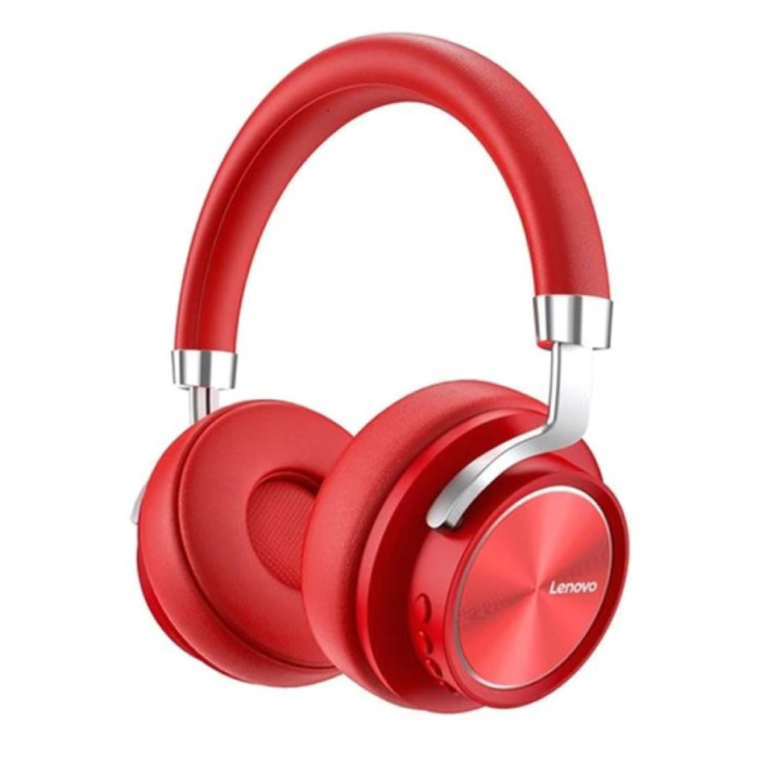 HD800 Bluetooth Headphones with AUX Connection - Headset DJ Headphones Red