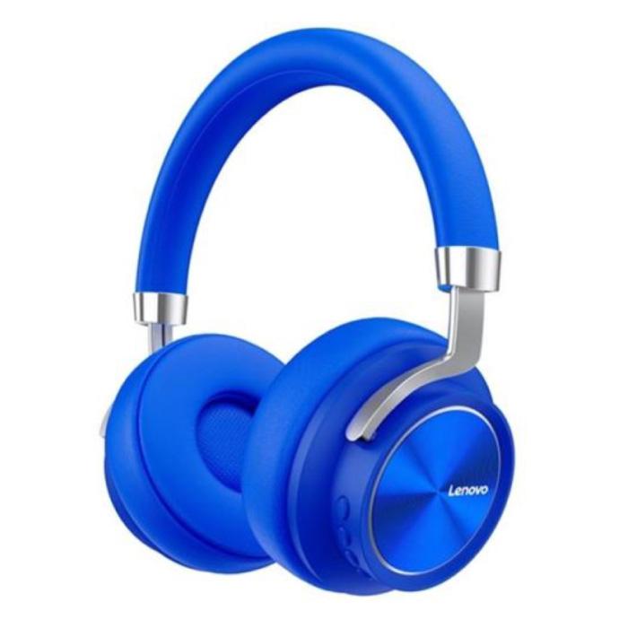 HD800 Bluetooth Headphones with AUX Connection - Headset DJ Headphones Blue