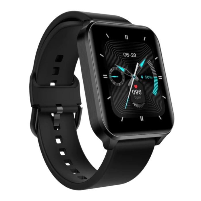 S2 Pro Smartwatch - Montre Fitness Sport Activity Tracker Gel de Silice iOS Android Noir