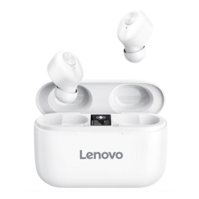 HT18 Draadloze Oortjes met Ingebouwde Microfoon - Touch Control ANC Oordopjes TWS Bluetooth 5.0 Earphones Earbuds Oortelefoon Wit