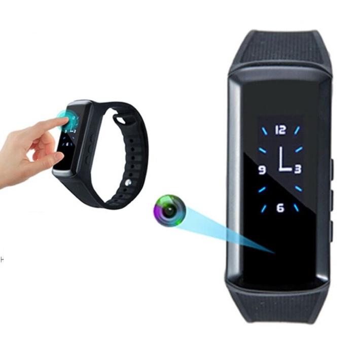 Caméra de sécurité Watch - Activity Tracker Smartband DVR Camera Smartwatch - 1440p