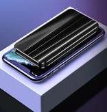 Nohon 10.000mAh Powerbank met 4 Poorten - LED Display Externe Noodaccu Oplader Charger Blauw