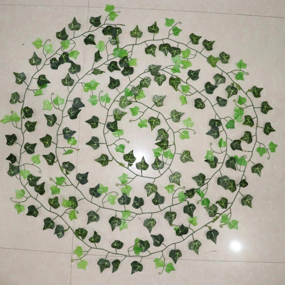Guirlande de lierre - ornement de décor en soie plante suspendue plante d'art décoratif