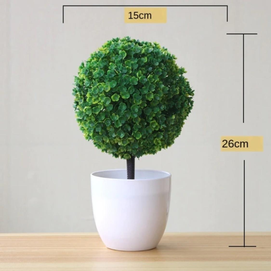 Kunst Bonsai Boom - Planten Nep Plant Plastic Decoratie Ornament