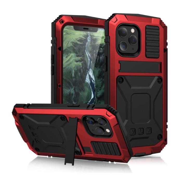 Coque iPhone 11 360 ° Full Body + Protecteur d'écran - Housse antichoc Rouge
