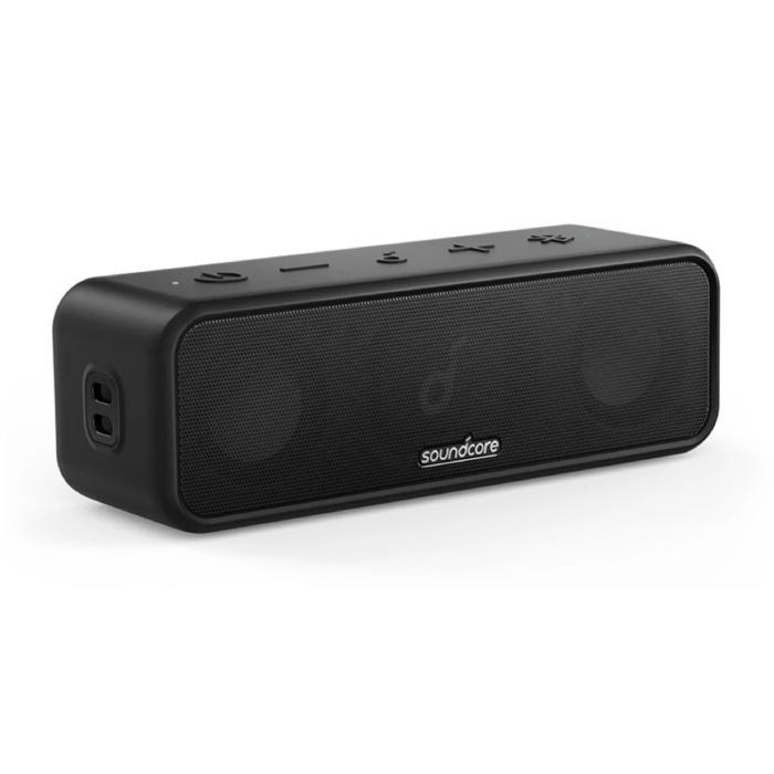 SoundCore 3 - Bluetooth 5.0 Wireless Speaker Soundbar Wireless Speaker Box Black